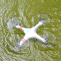 Waterproof Aviax Headless Cruise Control Drones 2 4G 4CH RC Quadcopter 360 Degree Rotation Professional Quadrocopter