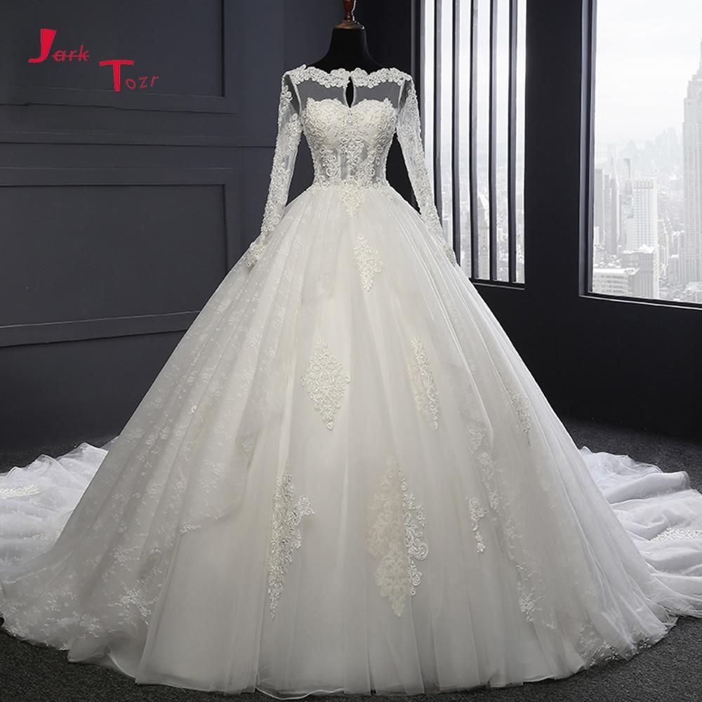 Robe de mariée à dos ouvert et manches l ...