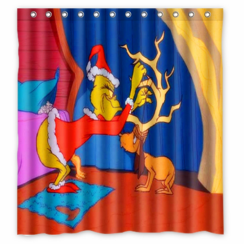 Fairy shower curtain - Anime Shower Curtain One Piece Bleach Fairy Tail Naruto Together How The Grinch Stole Christmas Shower Curtain 66x72 Inch In Shower Curtains From Home