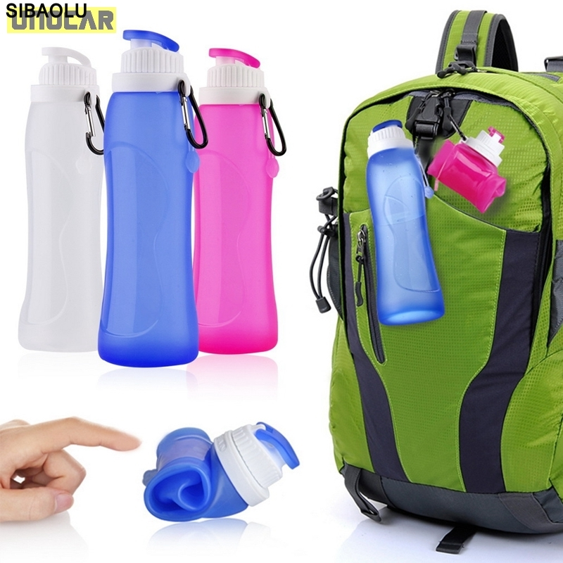 200pcs 500ML Creative Collapsible Foldable Silicone drink