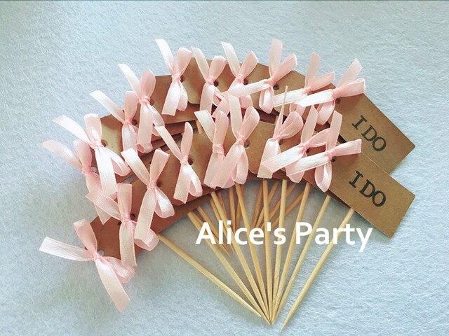 rustic wedding party decorations kraft paper i do cake topper cupcake decorbridal shower we