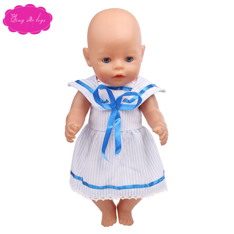 Handmade doll clothes for 43-cm Zapf dolls are the perfect birthday gift for kids f390
