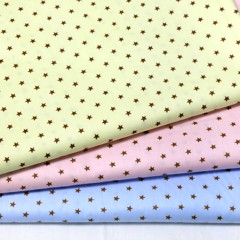 Plain Cotton Fabric Quarters Yellow Color for Sewing Patchwork Crafts Quilting etc