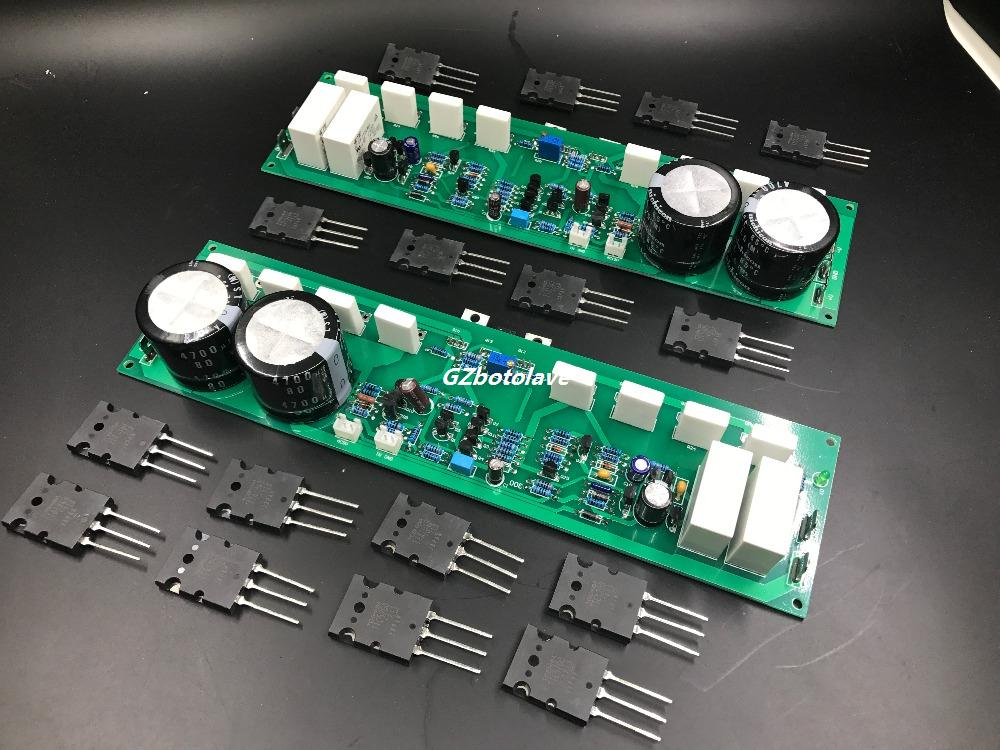 Assembled PR-800 1000W Class A and B professional stage fever 1000W power amplifier board finished board fever class single channel lm3886tf power amplifier board finished board can be parallel to the classic circuit