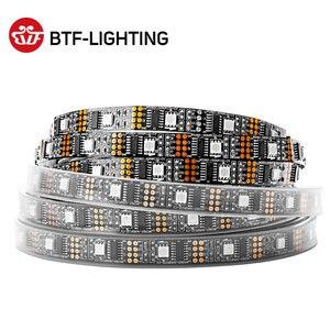 Image 1 - WS2801 RGB Led قطاع ضوء 5V 1m 2m 3m 4m 5m 32 المصابيح 2801 رقاقة Led أضواء فردي عنونة 12 مللي متر كامل حلم اللون IP30 67
