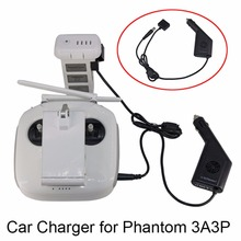 Dji Phantom 3 Car Charger 12V Vehicle Charger for DJI Phantom 3 Camera Drone Battery Controller Portable Travel Charging Outdoor