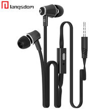 Original Headphone Earphone 3.5mm Stereo Music Bass Headset With Mic for iphone 5S 6S Plus for Samsung Xiaomi Sony Earphones