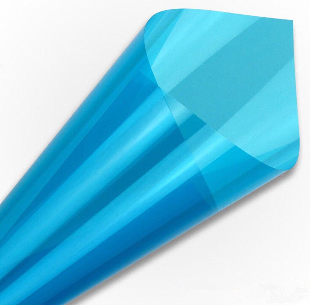 1.52x0.5m  Blue Decorative Privacy Glass Window Door Tint Tinting Film Home