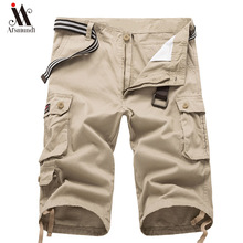 new  Summer Cargo Shorts Men Cool Hot Sale Cotton Casual streetwear Short Pants Brand Clothing Comfortable