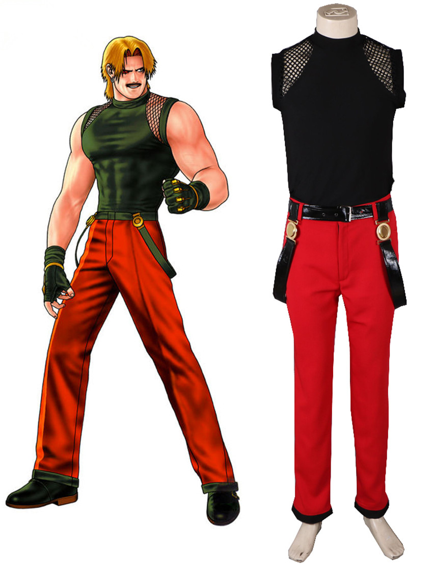 Cartoon THE KING OF FIGHTERS98 Game Anime Cos Kyo Kusanagi Fighting Uniform Halloween Woman Man Cosplay Costume