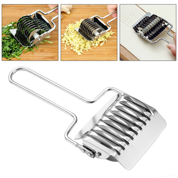 Stainless Steel Kitchen Shredder Multifunction Roller Cutter Useful DIY Dough Cutter Home bed making tools