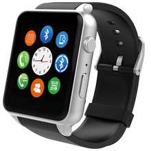Gold and Silver colors Bluetooth smart watch GT88 sim card support NFC and Camera MP3 mp4 for iphone smart phone