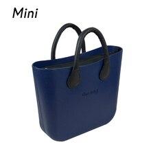 Mini Mi taille Obag O sac style AMbag avec noir insert de doublure avec poignées étanche mode femmes EVA de silicium DIY sacs