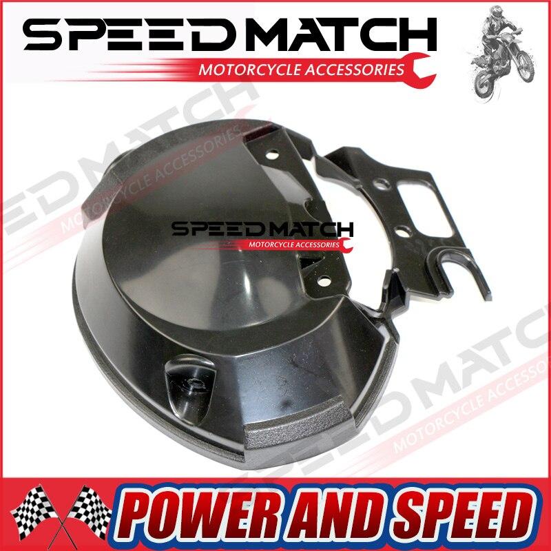 Bottom Speed Tach Gauge Rear Back Cover Bracket Headlight For Yamaha FZ6 FZ6N 2004 2005 2006 Black New Instrument meter case