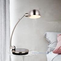 New Style Table Lamp Iron Modern American Foldable Long Arm Desk Lamp Reading Lamp E27 110V