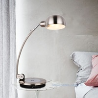 New Style Table Lamp Iron Modern American Foldable Long Arm Desk Lamp Reading Lamp E27 110V