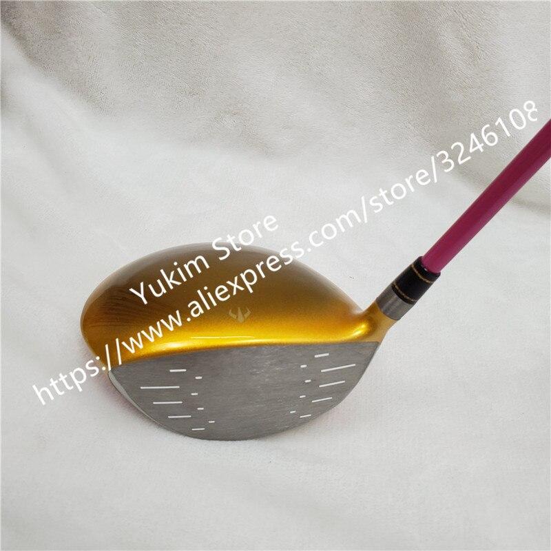 Nuove Donne Golf club HONMA S 06 4 Star di colore Dell'oro driver di Golf 11.5 loft Grafite L flex Club di Trasporto trasporto libero - 4