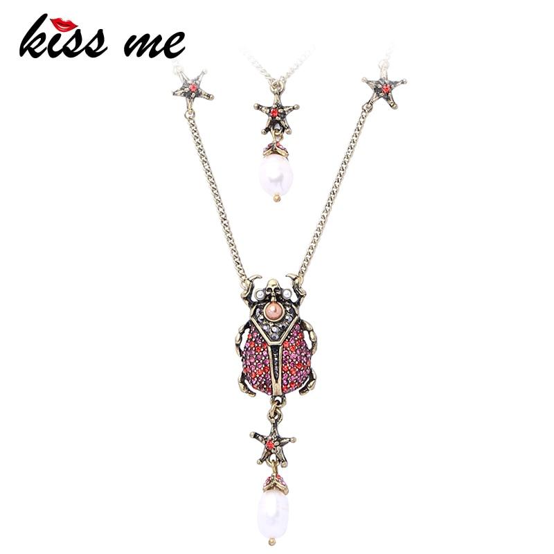 Free ship retro style Beautiful lady beetles alloy charm pendants