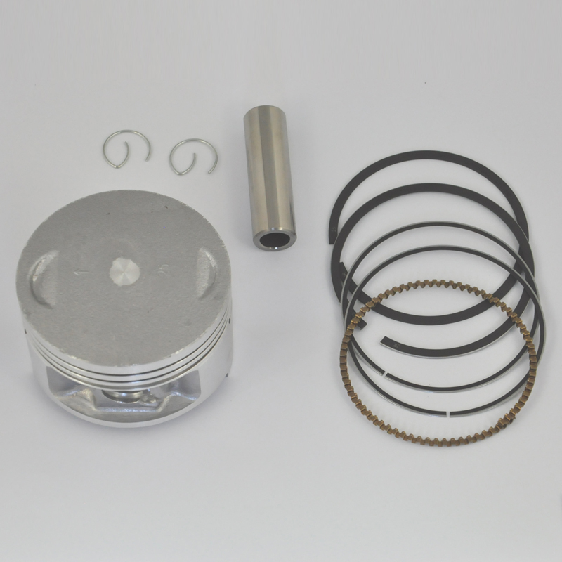 Motorcycle Engine Parts 50 Cylinder Bore Size 48 5mm: LOPOR High Performance Motorcycle Piston Kit Rings Set For