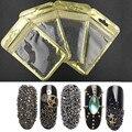 1 Bolsas de Colores de La Mezcla Del Arte Del Clavo Beads Caviar Perlas de Cristal de Uñas de Manicura Suministros Gris Oro Microesferas Decoraciones Para Uñas 3D
