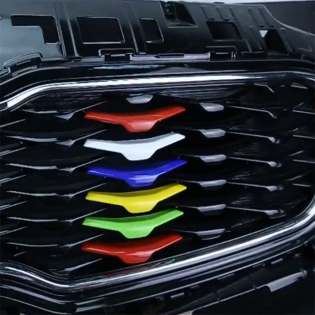 2017 Kia Sportage Accessories >> Us 25 8 Fit Untuk 2016 2017 Kia Sportage Aksesoris Chrome Bonnet Grille Gril Ql Potong Decor Rainbow Sticker Moulding Car Styling Di Dari