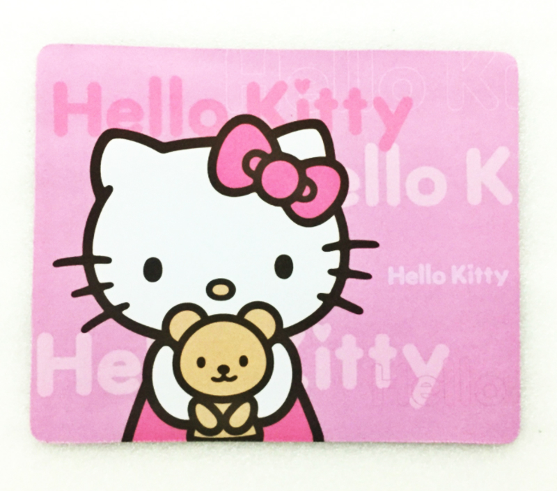 7193265a7 GIAUSA Hello Kitty Cute Durable Laptop Mouse Pad Thin Mat Mice Pad Small  Size Rubber Non