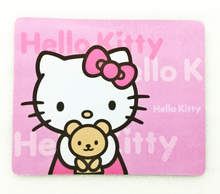 GIAUSA Hello Kitty Cute Durable  Laptop Mouse Pad Thin Mat Mice Small Size Rubber Non Slip Mini Table