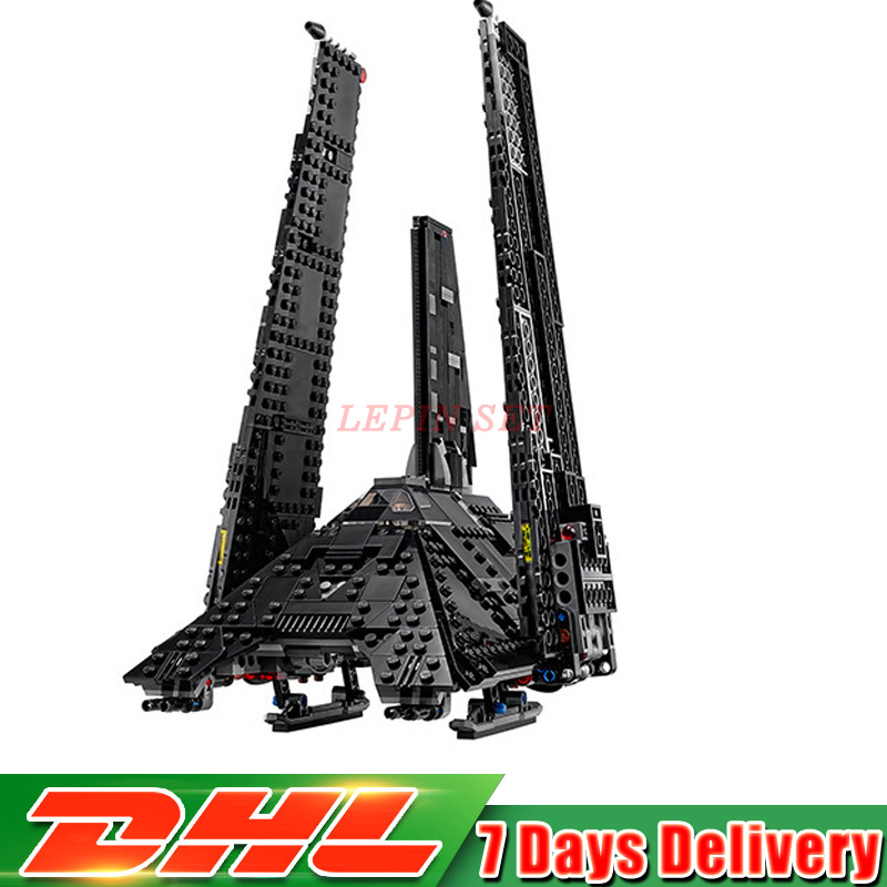 DHL IN STOCK 05049 863Pcs Star Series War Nova The Imperial Shuttle Building Blocks Bricks Lepin Toys Compatible 75156 Gifts dhl lepin 02038 1767pcs city series the city square education building blocks bricks toys compatible 60097 in stock