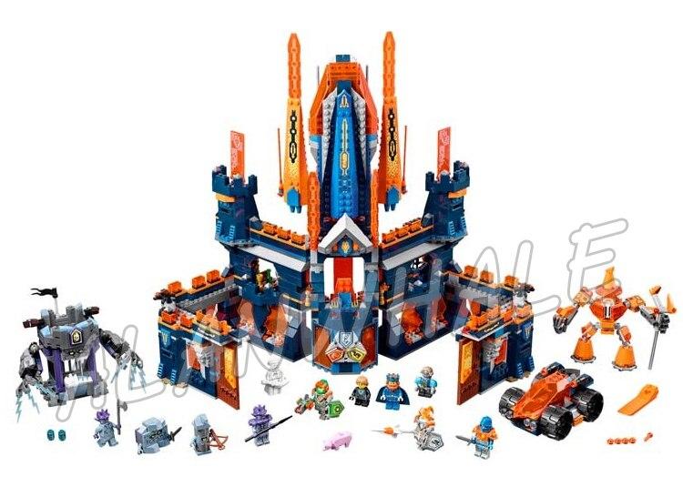 1295 шт. Рыцари Найтон замок базовая модель строительные блоки 10706 Детский праздник игры подарки наборы Nexus Совместимость с Lego