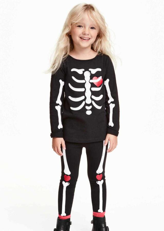 Skeleton Pajamas Boys Promotion-Shop for Promotional Skeleton ...