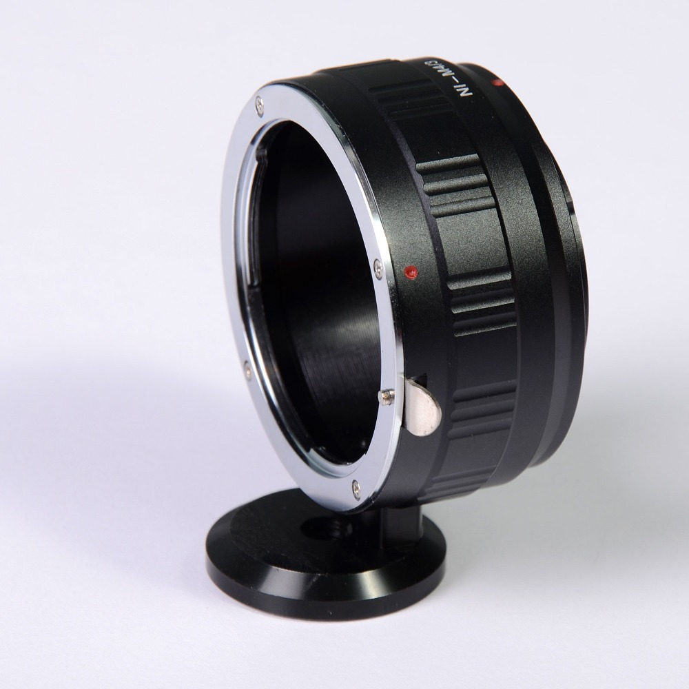 Lens Adapter Ring With Tripod Mount For Nikon F Ai Lens And Micro 4/3 M4/3 Mount E-PL1 PL2 PL3
