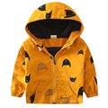Новый Капюшоном детские Куртки 18M-8Y Дети Пальто Мальчики Bomber Куртка Весна и Осень Мальчиков ветровки для детей Outerwears