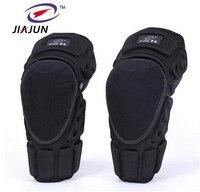 JIAJUN Motorcycle Knee Protector Pads Skiing MTB Snowboarding Protective Knee Brace Support Bicycle Protective