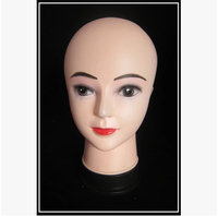 New arrival!!Good Looking Lovely New Face Mannequin Head Child For Display Hat, Glass