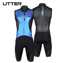 UTTER Swimrun Sleeveless Vest SCS Yamamoto Neoprene Swimsuit Triathlon Suit Wetsuit for Surfing Swimwear