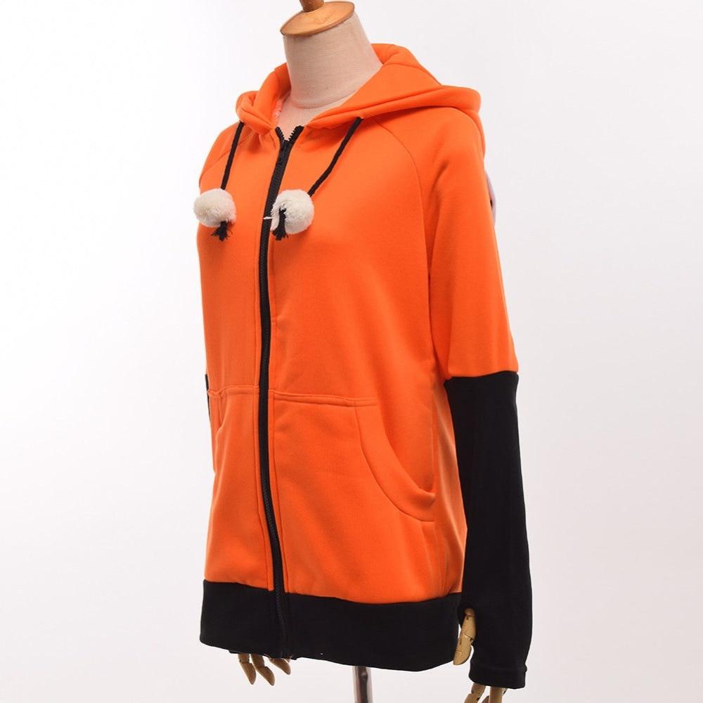 Fox Ears Sweatshirt Jacket   2