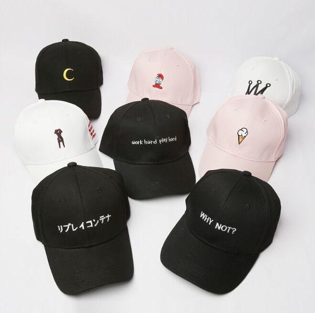 BBS098 Corea moda hombres deporte bordado Gorras de béisbol Casual caliente  Hip Hop Snapback sombrero las a462e7fb52c