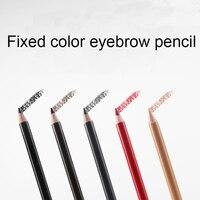 5 Sztuk Wodoodporny Ołówek Do Brwi Enhancer Makijaż Ołówek Długopis Stałe Eye Liner Brew Ołówki Farba uzupełnić Kosmetycznych Narzędzia