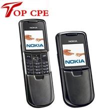 Original Unlocked Nokia 8800 Classic Mobile Phone Bluetooth Russian Arabic English Keybaord GSM Gold Sliver Black Refurbished