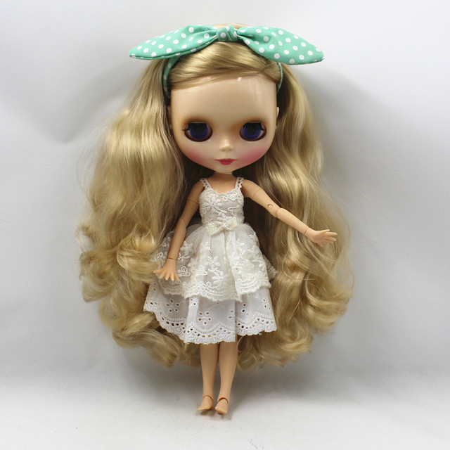 TBL Neo Blythe Doll Blonde Hair Jointed Body