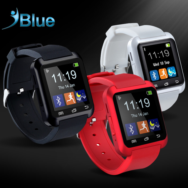Smart Watch U8 Android Bluetooth Wrist U font b SmartWatch b font For Samsung For iPhone