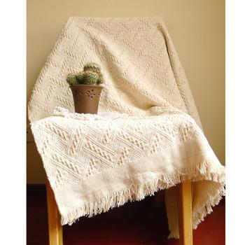 Nowy amerykański dorosły koc z dzianiny solidny biały koc rzut domu okładka plaża łóżko turystyczne sofa wykorzystanie hurtownia FG1096 tanie i dobre opinie MENHETON Pościel Podróży Dekoracyjne Zwykły 100tc Haftowane cotton