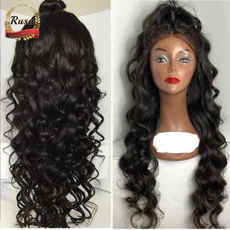7a brazilian deep body wave human hair wigs glueless full