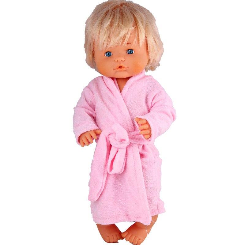 Clothes For Dolls Fit 41cm Nenuco Doll Nenuco Y Su Hermanita Pink Belt Night-gown Sleepwear For 16inch Nenuco Doll