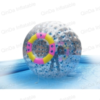Дешевые надувной мяч человек рулона внутри ясно, надувные Зорбинг шар надувной воды Зорб шары для продажи