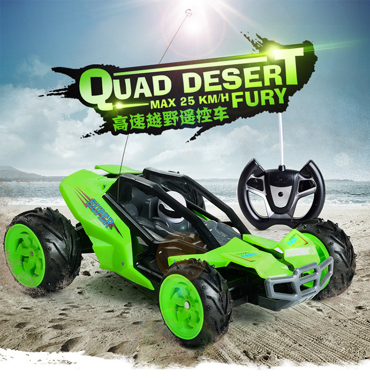 2.4G 1:16 high speed 25km/h Remote Control 4WD big wheels crawler Vehicle Electric Off road Buggy desert RC Car toy gift