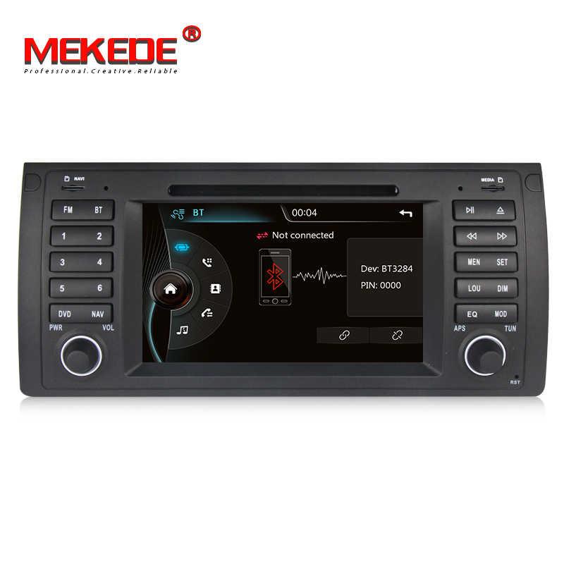 Автомобильный мультимедийный плеер поддерживает DVD формат/gps Navi для BMW/5 серии E39/X5 E53/M5 оригинальный автомобильный интерфейс Bluetooth/IPOD/радио/ATV/SD USB