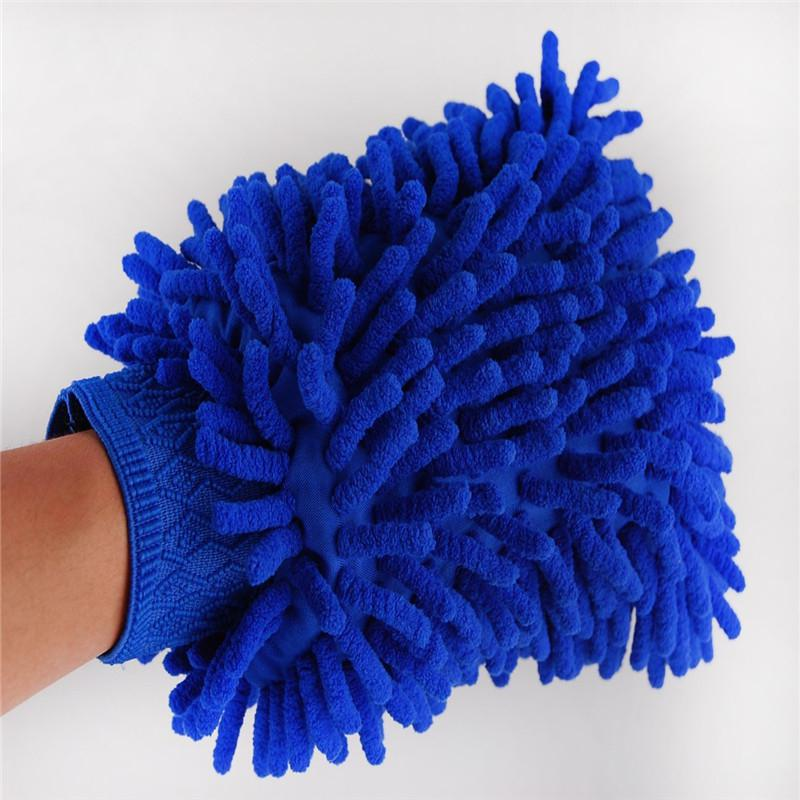 Chenille Microfiber Car Kitchen Household Duster Wash Washing Car Cleaning Glove Mit Car Wash Tool
