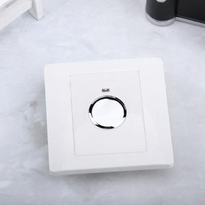 Image 2 - 220V Energiebesparing Muur Touch Sensor Switch Light Touch Switch Verstelbare Lichtregeling Voor Corridor Trap Garage Wandmontage