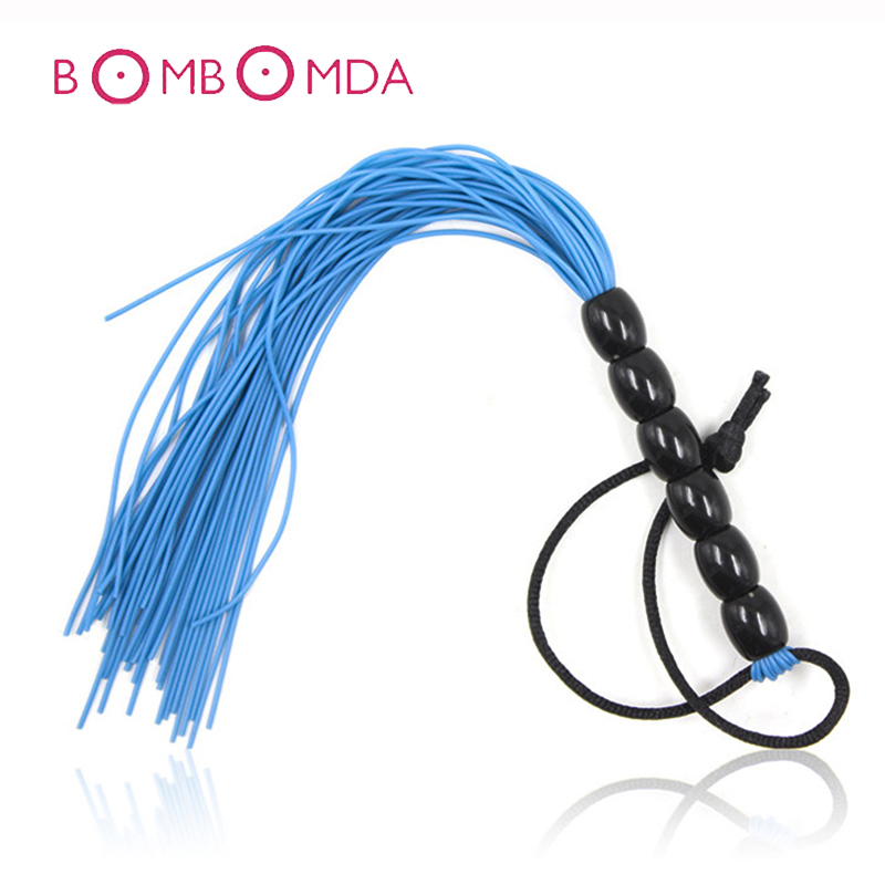PU Leather Sex Whip Flirting Fetish Spanking BDSM Bondage Flogger Porn Whip BDSM Adult Sex Toys For Woman Couple Adult SM Game image